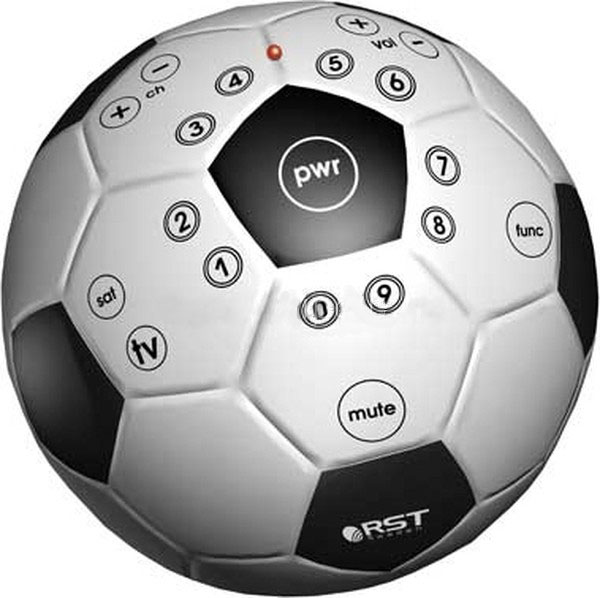 Универсальный пульт в виде футбольного мяча